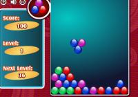 Jeux de zuma : empile les boules de couleur
