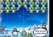 Des pingouins et des boules