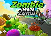 Zuma tête de zombies