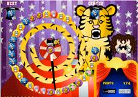 Jeu de zuma des animaux du cirque
